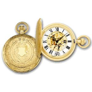 Colibri Swiss Made 17-Jewel Gold Plated Mechanical Movement Pocket Watch PWS-99012