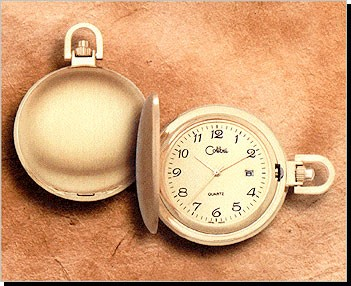 Colibri 500 Series Quartz Date Pocket Timepiece PWS-95916