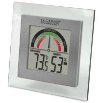 La Crosse Technology WT-137U Digital Thermometer/Hygrometer with Comfort Meter