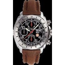 Terra Master(TM) Automatic- Black Dial/ Brown Strap