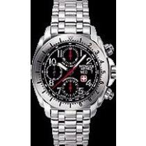 Terra Master(TM) Automatic Black dial, Stainless Bracelet