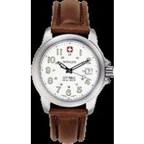 Gents Terragraph(TM) Lithium Quartz White dial, Brown Leather Strap