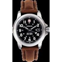 Terragraph(TM) Lithium Quartz Black Dial, Brown Leather Strap