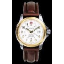 Terragraph AutoQuartz« White Dial, Bi-Color Case, Stainless Bracelet