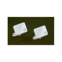 Colibri Genuine Diamond Collection Silver Tone Cuff Links ACL-000075-W