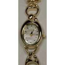 Colibri Mother of Pearl Dial Gold Tone Mother and Child Bracelet Watch MCW-90045