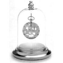 Colibri Presentation Dome Silver Tone Clock PWB-110