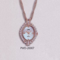 Colibri Genuine Diamond Pendant Watch PWD-20007