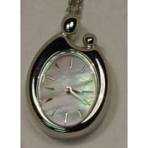 Colibri Mother of Pearl Dial Mother and Child Pendant Watch PWL-90046