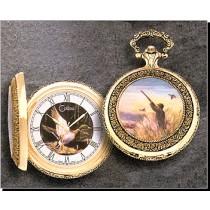 Colibri Wildlife Series Eagle Quartz Pocket Timepiece PWS-95854-S