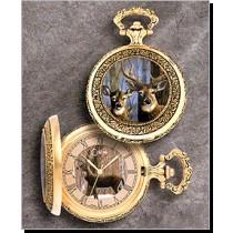 Colibri Wildlife Series Eagle Quartz Pocket Timepiece PWS-95856-S
