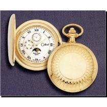 Colibri Moon Phase Chronograph Pocket Timepiece Gift set PWS-95887-E