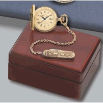 Colibri Swiss Made Old World pws95210b Pocket Watch and Chain w/fob Set PWS-95210 B