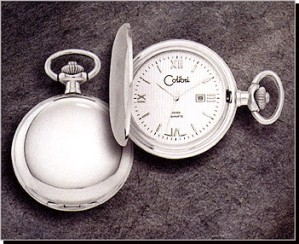 Colibri CSQ Series Date Pocket Timepiece PWS-95861-N