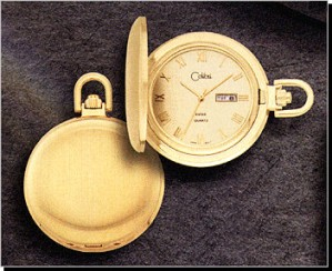 Colibri CSQ Series Day & Date Pocket Timepiece PWS-95877-N