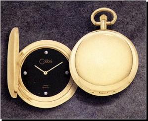 Colibri CSQ Series Diamond Pocket Timepiece PWS-95880-N