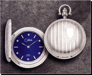 Colibri CSQ Series Diamond Pocket Timepiece PWS-95881-N