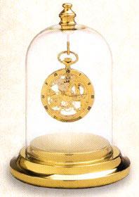 Colibri Presentation Dome Gold Tone Clock PWB-109