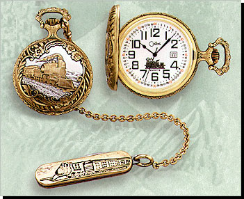 Colibri of London Time Honored Traditional Old World Pocket Watch PWS-95212-A