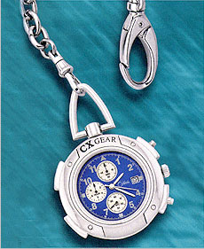 Colibri CX Gear Date Chronograph Sport Pocket Timepiece PWS-95634