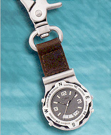 Colibri CX Gear Sport Analog Digital Alarm Clip Timepiece PWS-95646