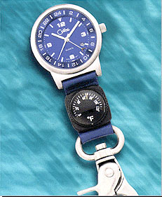 Colibri CX Gear Date Temperature Sport Clip Timepiece PWS-95647