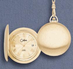 Colibri Swiss Quartz CSQ Pocket Watch PWS-95702-N