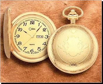 Colibri 500 Series Quartz Day & Date Pocket Timepiece PWS-95932-D